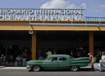 Marti International Airport in Havana